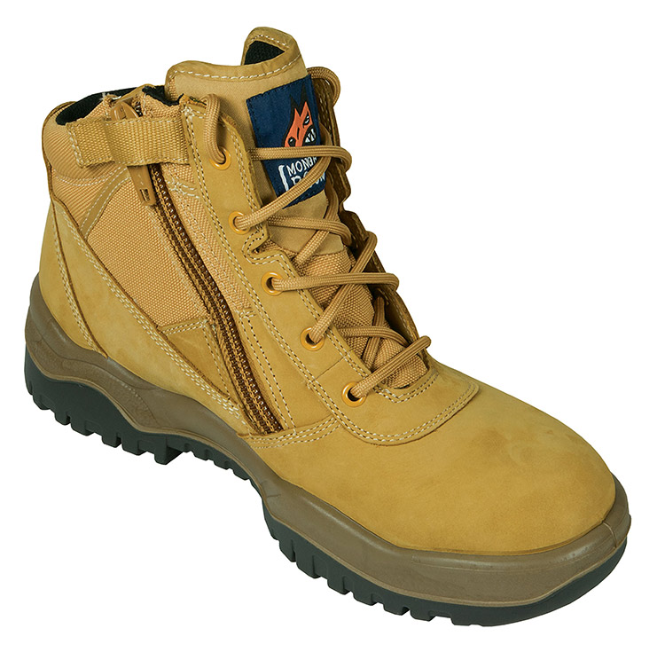 Wheat ZipSider Boot