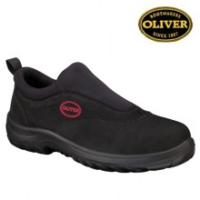 Black Slip-On Sport Shoe